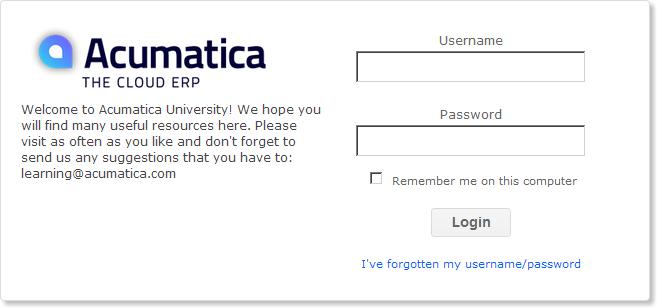 acumatica-university-login
