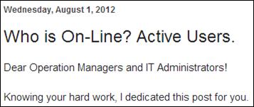 Acumatica Active Users