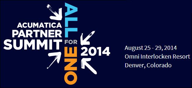 Acumatica Partner Summit 2014 (Denver, Colorado)