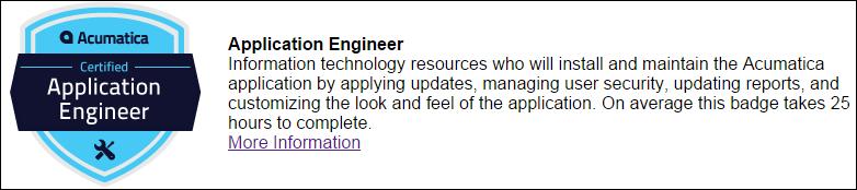 Acumatica Application Engineer