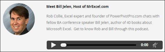 Bill Jelen Tells His Story