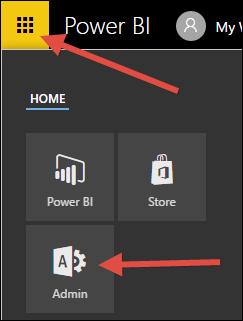 Power BI Tile Dashboard Widget in Acumatica 6