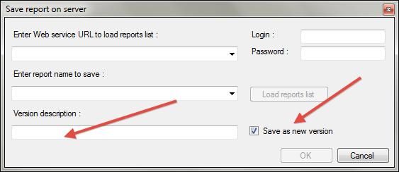 Acumatica Report Designer - Save as new version