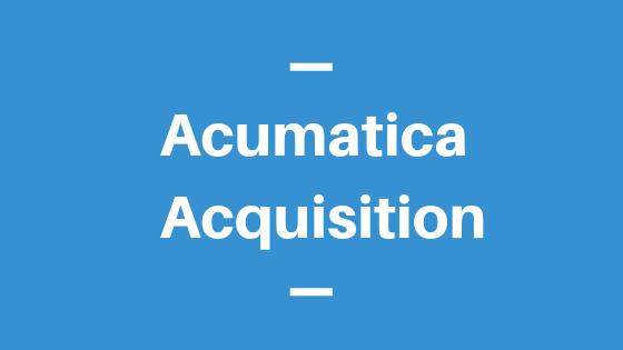 Acumatica Acquisition