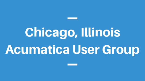 Acumatica User Group in Chicago, Illinois