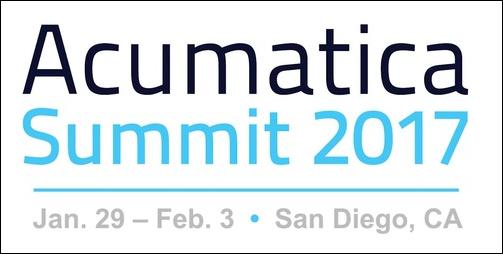 Acumatica Summit 2017