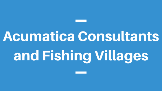 Acumatica Consultants and Fishing Villages